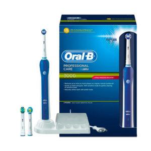Профессиональная электрическая зубная щетка Oral B Professional Care 3000 в Киеве, найти и купить электронную зубную щетку Oral B Professional Care 3000, реальные цены в каталоге интернет супермаркета БЭЙБИ-МЕДИКАЛ - photo2