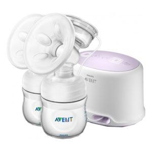 Двойной электронный молокоотсос Philips AVENT Comfort (SCF334/02)