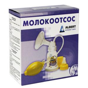 Ручной молокоотсос Киевгума (499591) - photo2