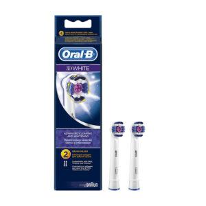 Насадки для зубной щетки Oral B 3D White