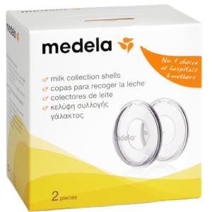 Молокосборники Medela Milk Collection Shells, 2 шт