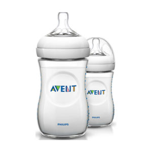 Бутылочка для кормления Avent Natural, 2х260 мл (SCF693/27)