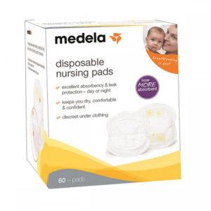 Одноразовые прокладки в бюстгальтер NEW (Disposable Nursing Bra Pads ), 60 шт. (008.0323)