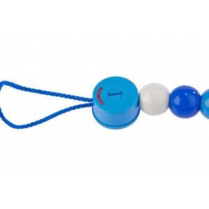 Клипса для пустышки «Синие бусинки» Heimess (733900) - photo2
