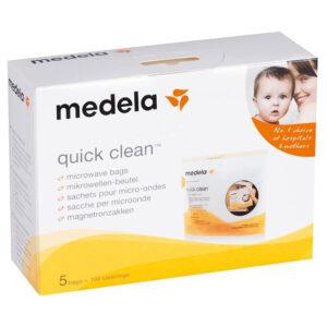 Пакеты для паровой стерилизации молока Medela Quick Clean Microwave Bags (008.0065)