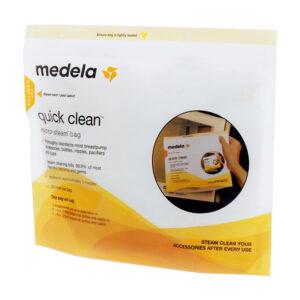 Пакеты для паровой стерилизации молока Medela Quick Clean Microwave Bags (008.0065) - photo2