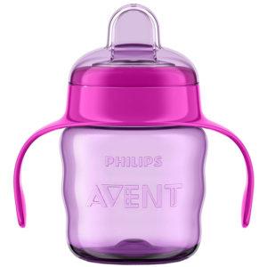 Чашка-непроливайка Philips Avent 200 мл, 6 мес+ (SCF551)