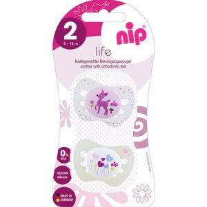 Пустышка «Замечательная жизнь» Nip, 5-18 мес. (31302) - photo2