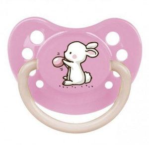 Силиконовая пустышка Canpol Babies Little Cutie, 0-6 мес. (23/262)
