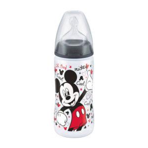 Бутылочка с силиконовой соской NUK First Choice Plus