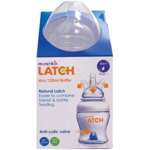 Бутылочка для кормления Munchkin Latch 120 мл, 0 мес+ (11614) - photo2