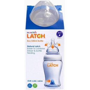 Бутылочка для кормления Munchkin Latch 240 мл, 0 мес+ (11626) - photo2