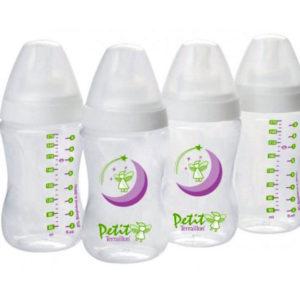 Бутылочки для кормления Terraillon Petit, 4х270 мл (2041) 10893