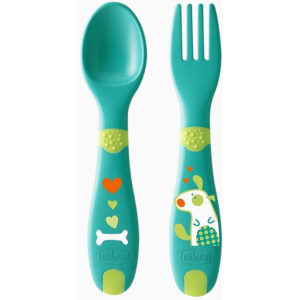 Набор посуды Chicco ложка и вилка First Cutlery 12 м (16101.30)