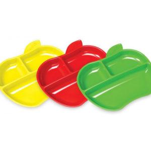 Набор тарелок Munchkin Lil Apple, 3 шт. (12102)