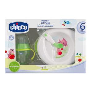Набор: тарелка, чашка и ложка Chicco (06832.05)