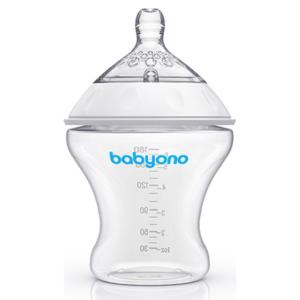 Бутылочка для кормления BabyOno Natural Nursing, 180 мл (1450) - photo2