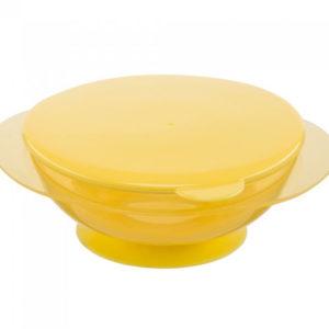 Happy Baby Тарелка на присоске Feedin Bowl - photo2