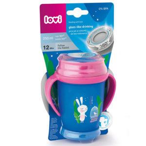 Чашка с ручками LOVI Folky Junior Следуй за кроликом, 250 мл - photo2