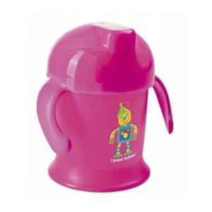 Чашка-непроливайка Canpol babies Улыбка, 200 мл, розовый (31/300)