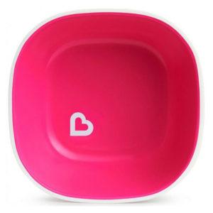 Набор тарелок Munchkin Splash Bowls 2 шт Розовая и фиолетовая (012446.01) (5019090124461) - photo2