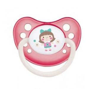 Пустышка латексная Canpol Babies Toys, 0-6 мес. (23/259)