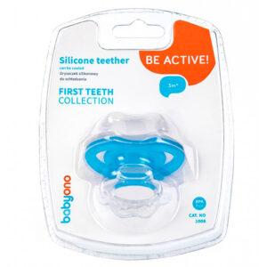 Прорезыватель силиконовый «Первые зубки» BabyOno (1008) - photo2