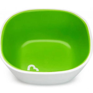 Набор тарелок Munchkin Splash Bowls 2 шт Зеленая и голубая (012446.02) - photo2