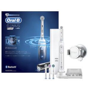 Электрическая зубная щетка Oral-B Genius 9000 — Белый