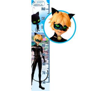 Детский Ростомер наклейка Miraculous «Cat Noir»