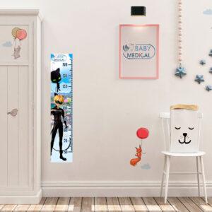 Детский Ростомер наклейка Miraculous «Cat Noir» - photo2
