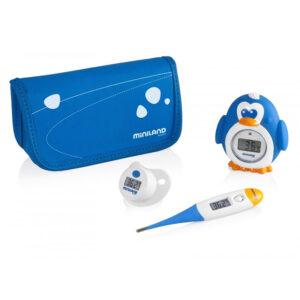 Комплект из 3 цифровых термометров Miniland baby Thermokit