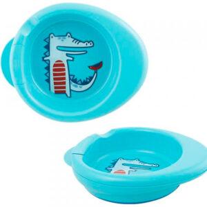 Термоустойчивая тарелка Chicco Warmy Plate, 6 мес+ - photo2