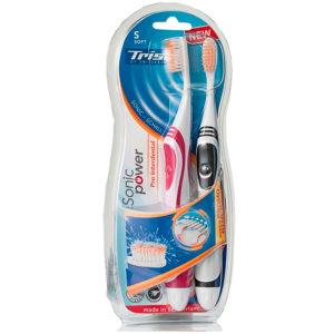 Электрическая зубная щетка Trisa SonicPower Akku Pro Interdental Soft 2Duo (4667.0210)