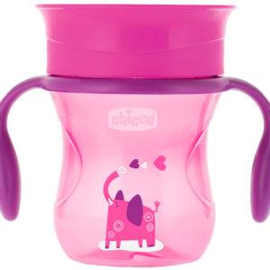 Чашка непроливайка Chicco Perfect Cup 200 мл, 12 мес+
