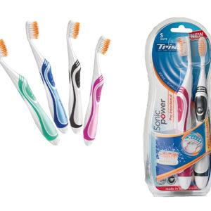 Электрическая зубная щетка Trisa SonicPower Akku Pro Interdental Soft 2Duo (4667.0210) - photo2