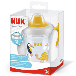 Поильник Nuk Evolution Trainer Yellow, 230 мл - photo2
